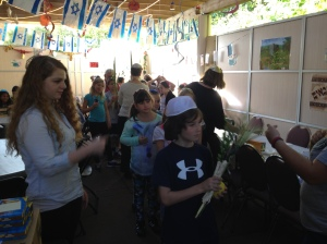 Rel School in Sukkah