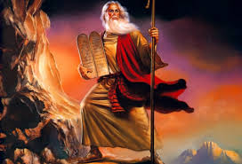 Moshe and ten commandments