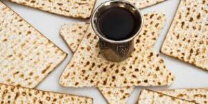 Matzah and wine