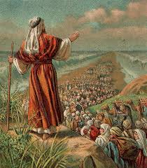 Moses leads people