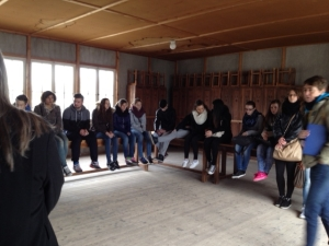 Students in Dachau