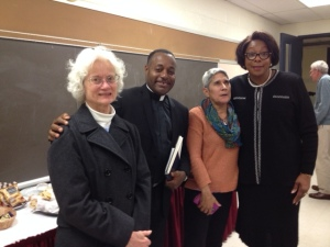 Dr. Wortham and Clergy