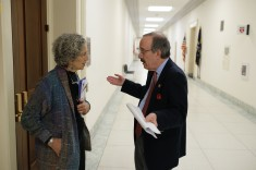 American Jewish World Service visits legislators on Capitol Hill in Washington, DC March 12, 2019. (Photo: Chuck Kennedy for AJWS)