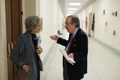 American Jewish World Service visits legislators on Capitol Hill in Washington, DC March 12, 2019. (Photo: Chuck Kennedy for AJWS)
